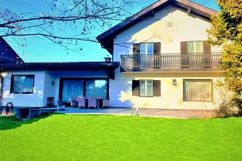 Salzburg- Stadtteil AIGEN:  Traumhaus HAUS mit GARTEN, SAUNA, GARAGE, PARKPLATZ - Nähe Schloss Aigen – PROVISIONSFREI!