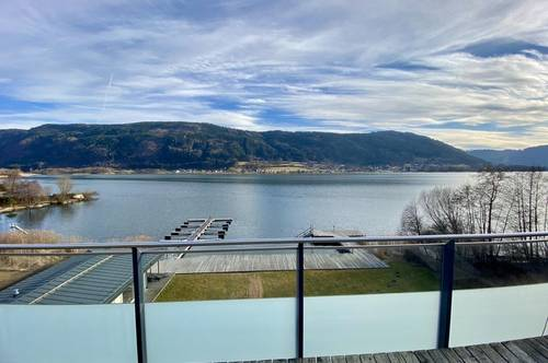 Sonnige Penthousewohnung am Ossiacher See