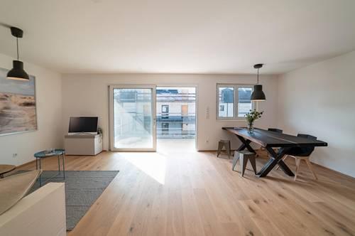 Inspiration - Neubauwohnung mit XL Balkon