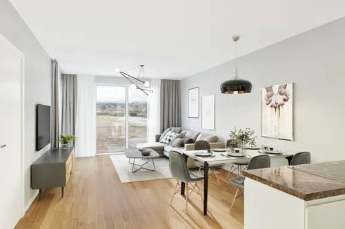 *Stonefield Living* | Moderne 3-Zimmerwohnung mit großem Garten