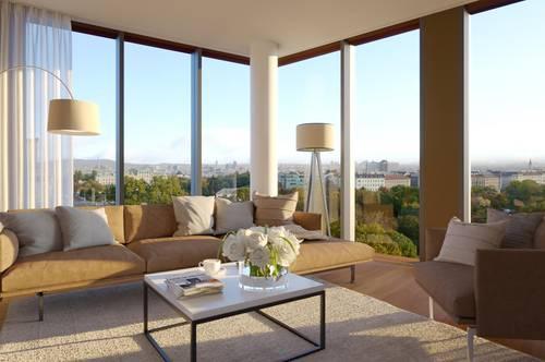 Unbefristet & provisionsfrei | Moderne Wohnung mit unverbaubarem Blick auf das Belvedere | Top 0304