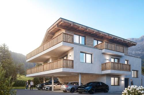 Five superb apartments in a Tyrolean style development