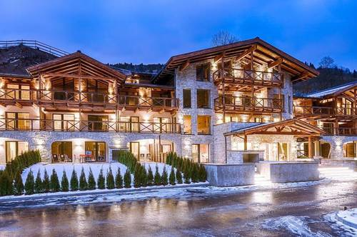 Luxury penthouse apartment with private sauna for sale in beautiful Saalbach-Hinterglemm