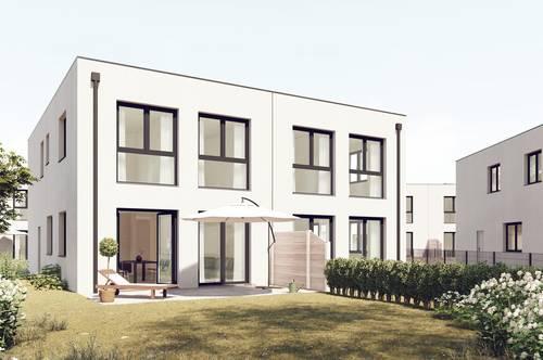 Exklusive Doppelhaushälfte kurz vor Fertigstellung