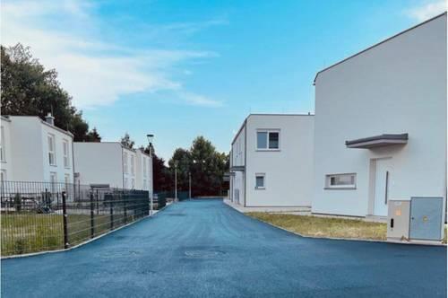 Erstbezug - 3 Zimmer Doppelhaushälfte direkt am Mühlbach zur Miete