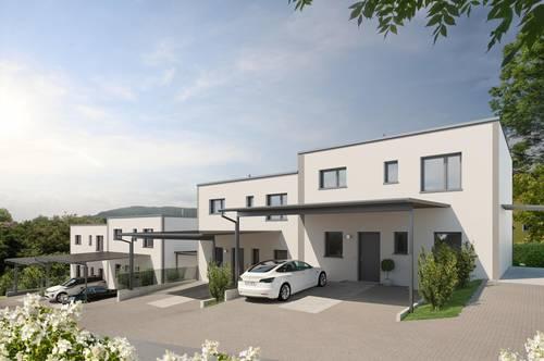 Provisionsfrei ab € 806,- mtl.* | St. Lorenz Living Lodge | moderne Doppelhaus-Hälfte mit sonnigem Garten
