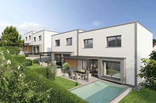 Provisionsfrei ab € 874,- mtl.* | St. Lorenz Living Lodge | sonnige Doppelhaus-Hälfte mit grünem Garten