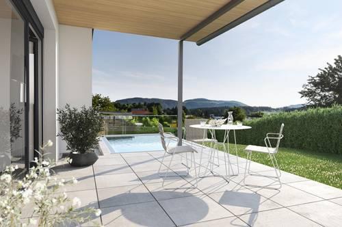 Provisionsfrei ab € 897,- mtl.* | St. Lorenz Living Lodge | traumhafte Doppelhaus-Hälfte mit sonnigem Garten