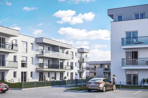 GESCHENK-AKTION | Provisionsfrei ab € 714,04 mtl. ohne Eigenkapital, bonitätsabhängig | Werndorf Living | lichtdurchflutete 3-Zimmer-Wohnung
