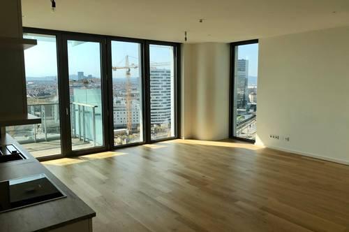 Sonniger Erstbezug ParkApartments 2 Zimmer Balkon und Garage von Privat
