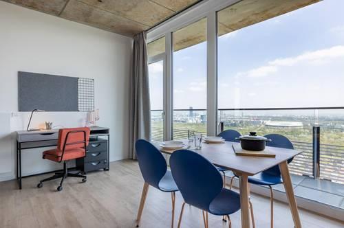 ERSTBEZUG: möbliertes Apartment über den Dächern Wien - Linked Living TrIIIple