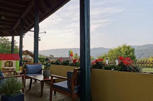 Ruhige Terrassenwohnung in Seennähe mit beeindruckendem Bergblick