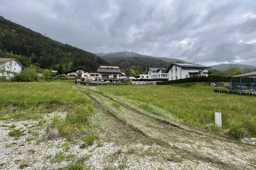 BODER SONNENHANG: Baugrundstück mit Bergblick.
