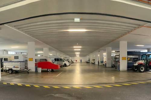 Parkplätze für Pkw und Caravan in Klagenfurt