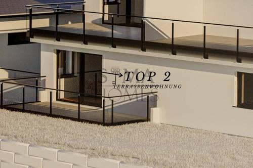 Faaker See Erstbezug: TOP 2 Erdgeschosswohnung mit XXL-Terrassenflächen & Bademöglichkeit