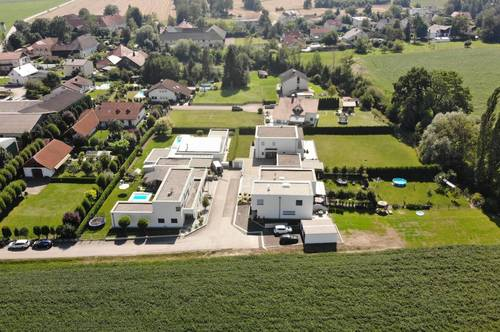 Wohnung mit Garten im Doppelhaus