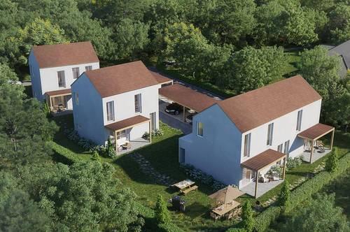 Süd/West ausgerichtete Doppelhaushälften mit Fernblick