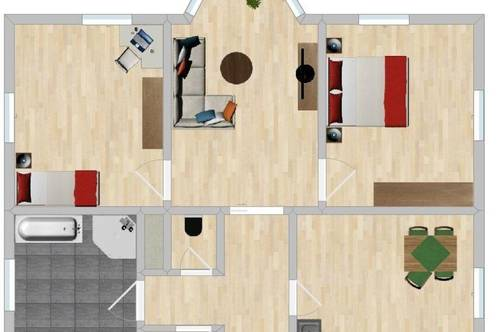 Geräumige , helle 3-Zimmer Wohnung im Ortszentrum