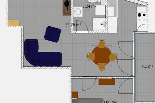 Neue herrliche 60m² Wohnung mit Balkon; Provisionsfrei.