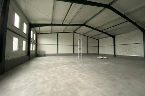 400 m² Lagerhalle südlich von Wien! € 7,00 / m²