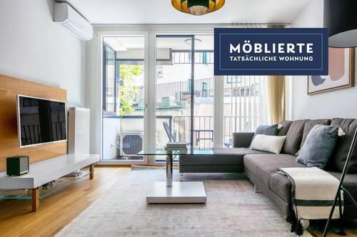 Bestlage in Mariahilf, U4/U6 in Gehweite, Neubau mit Balkon, sehr geräumige 2 Zimmer, top Küche
