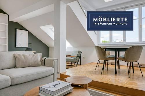 Beste Lage im 7. Bezirk - Traumhaft sanierte Wohnung, helle & geräumige 3 Zimmer, UBahn in Gehweite