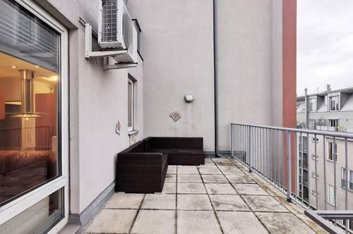 *TERRASSENTRAUM* Architektur Dachgeschosswohnung mit bis zu 4m hoher Raumgestaltung!