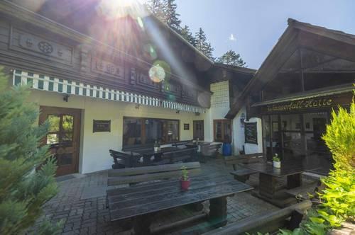 Einzigartige Lage am Wasserfall - Berghüttengastro & Pension & Wohnen - 1h nach Wien !