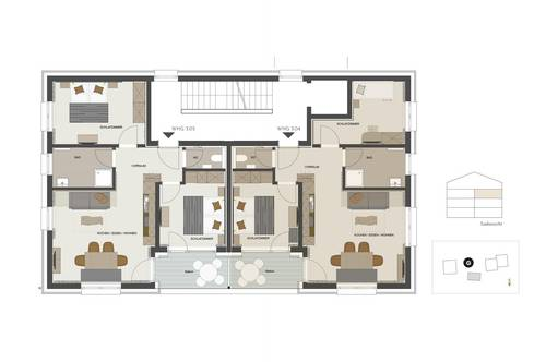 3 Zimmer Wohnung für Investoren umringt von der Bergewelt 3.04