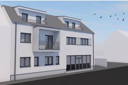 Wohnen in Schattendorf - ERSTBEZUG - 3-Zimmerwohnung im Ortszentrum