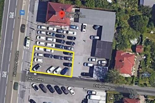 Single - Büro & Freiflächen in Bestlage – 8053 Graz, Kärntnerstraße 105