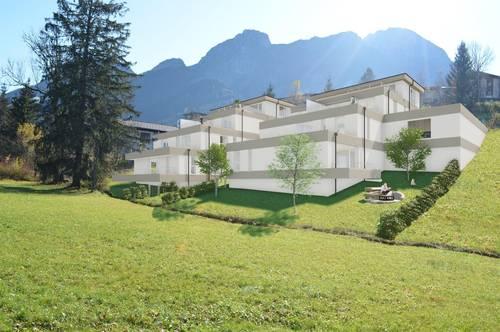 Abtenau, HILLGARDEN - Das Haus am Hang / 2-4 Zimmerwohnungen von 52m² bis 92m² im Ortskern von Abtenau
