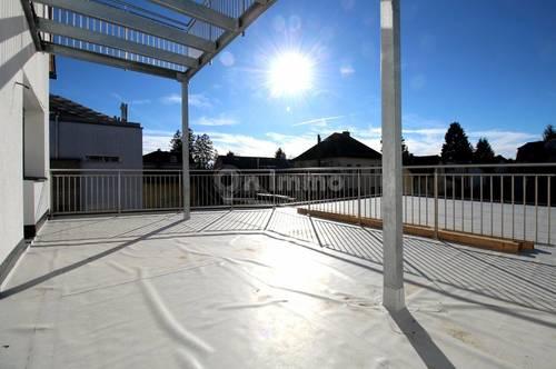 Moderne Traumwohnung mit 38 m² großer Terrasse!