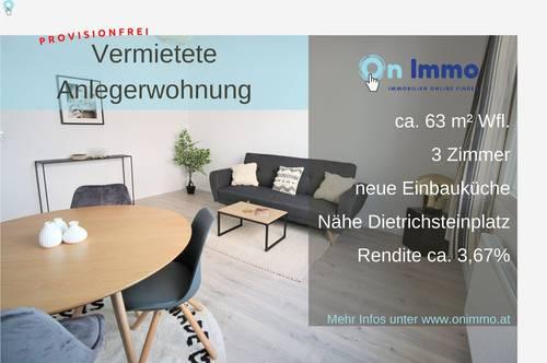 Vermietete Studentenwohnung im Zentrum von Graz!