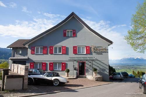 Baugrundstück mit Altbestand in bester See- und Alpenblick Lage