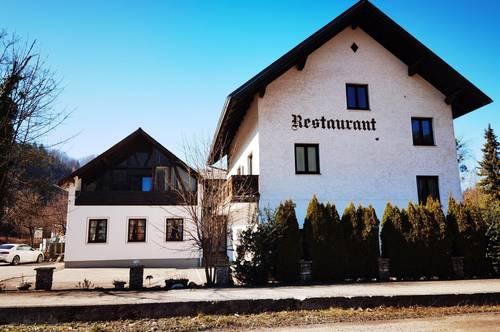 Gastronomiebetrieb mit Campingplatz und Pension - Ybbstalradweg