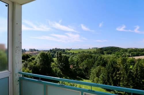 2-Zimmer-Wohnung mit Loggia und wunderschöner Aussicht