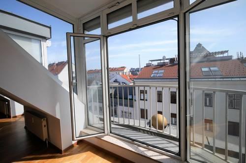 Tolle 4-Zimmer-Dachgeschosswohnung mit riesiger Dachterrasse! Top Preisleistung!