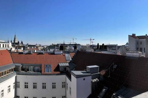 Ruhige Dachterrassenwohnung mitten im 8.