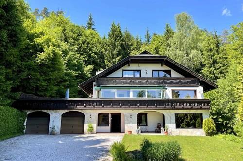 Geräumiges Familiendomizil in Waldlage mit Indoor-Pool