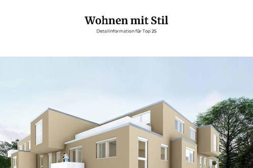 WOHNEN MIT STIL 3-Zimmer DG-Wohnung mit Terrasse, schlüsselfertig, klimatisiert, provisionsfrei!