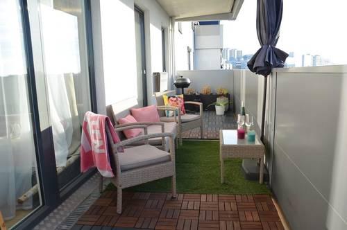 Sonnig und helle 3 Zi. Wohnung | schöner 16 m² Süd-West Balkon | 100m zu U1-Aderklaa