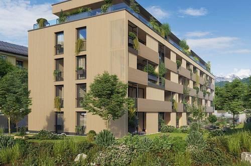 Kufstein: Natur Quartier Weißache 1,5 Zimmer Wohnung in Traumlage zu vermieten