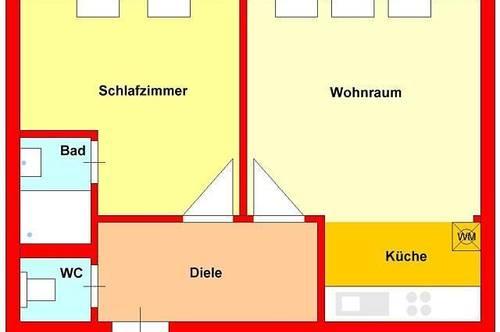 zentrale Dachgeschosswohnung in Herz-Jesu - Nahe TU