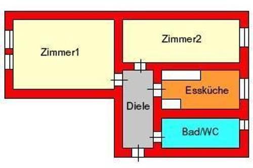 sonnige 2-Zimmer-Dachgeschoßwohnung nähe Lendplatz