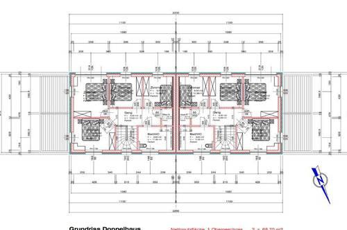 NEUBAU - HOCHWERTIGE DOPPELHAUSHÄLFTE MIT 440m² GRUNDFLÄCHE