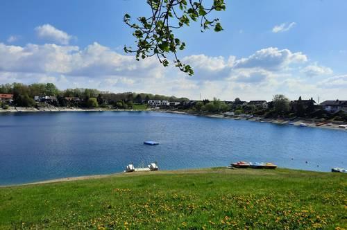 Baugrund am Neudörfler See inkl. Ferienhütte zum Wohlfühlen und Entspannen