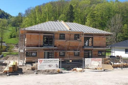 Neu errichtete Doppelhaushälften in traumhafter Umgebung