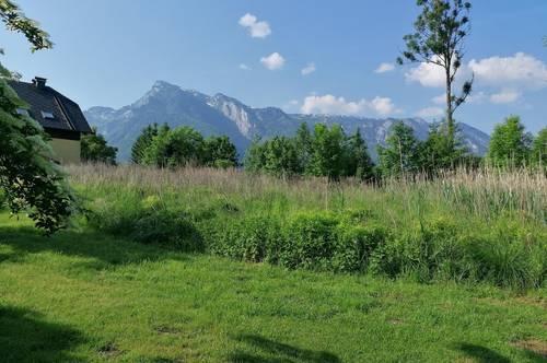 Baugrund im Süden der Stadt Salzburg neben Landschaftsschutzgebiet