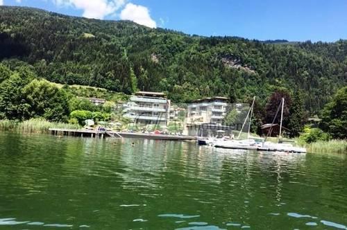 Wohnen, wo Andere Urlaub machen !<br />Penthousewohnung am Ossiacher See